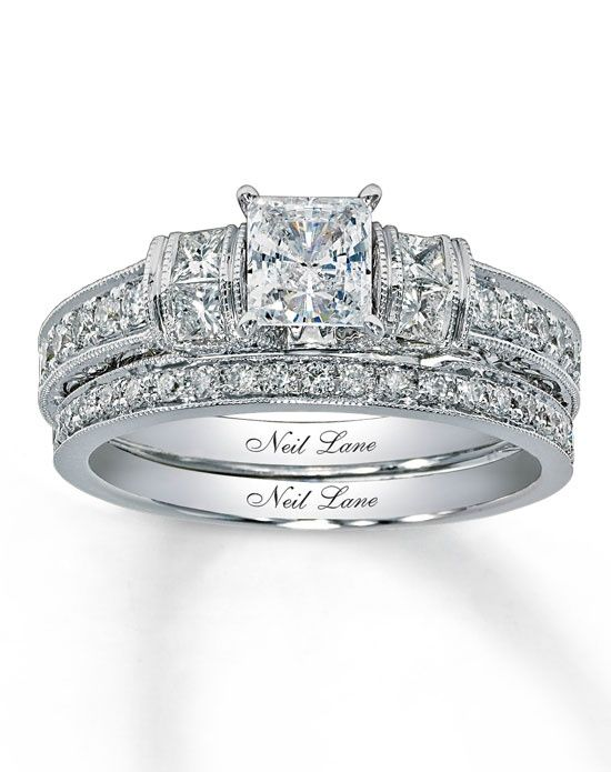 Neil Lane  This is my engagement and wedding ring. Still in love with it!!