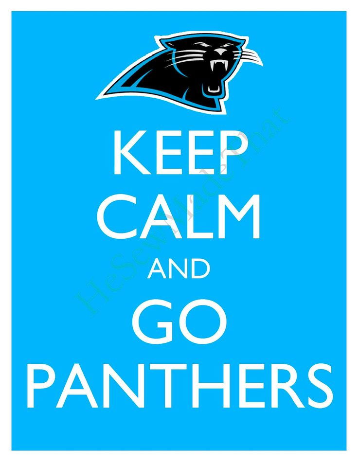 Keep Calm and Go Panthers - 8x10 Picture - Wall Hanging - Carolina Football NFL Blue. $7.90, via Etsy. for the shelves in the living room, see if Everett notices?