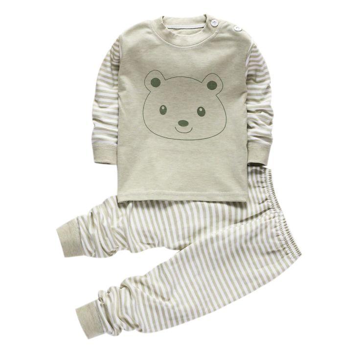 $7.90 (Buy here: https://alitems.com/g/1e8d114494ebda23ff8b16525dc3e8/?i=5&ulp=https%3A%2F%2Fwww.aliexpress.com%2Fitem%2FCotton-children-s-pajamas-for-boys-girls-sleepwear-boys-baby-toddler-pyjamas-kids-nightwear-pajama-set%2F32740103650.html ) Cotton children's pajamas for boys girls sleepwear boys baby toddler pyjamas kids nightwear pajama set child pjs long sleeve 2T for just $7.90