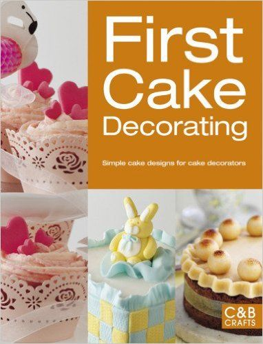STERLING PUBLISHING-First Cake Decorating. Why buy a cake when it is so easy to create something special yourself? Designed especially for the first-time decorator, this handy book reveals the secrets of producing an amazing baked masterpiece. Before you know it, you will be molding animals and figures, modeling with sugar paste and marzipan, working with chocolate and sugar and making your very own beautiful cakes! This book contains thirty- five cakes. Softcover, 128 pages.