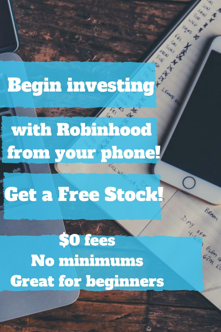 Invest In Stocks For Free With Robinhood App With Images