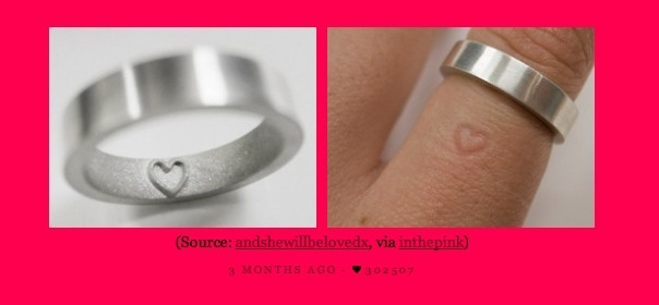 This is Brill!! Ring or no ring, your love is clear for all to see. :D: Wheretogetit, Imprint Rings, Love Is, Rings Silver