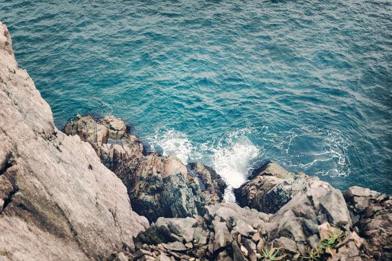 Ocean Waves Cliffs Nature Photography Travel by SilversGlow