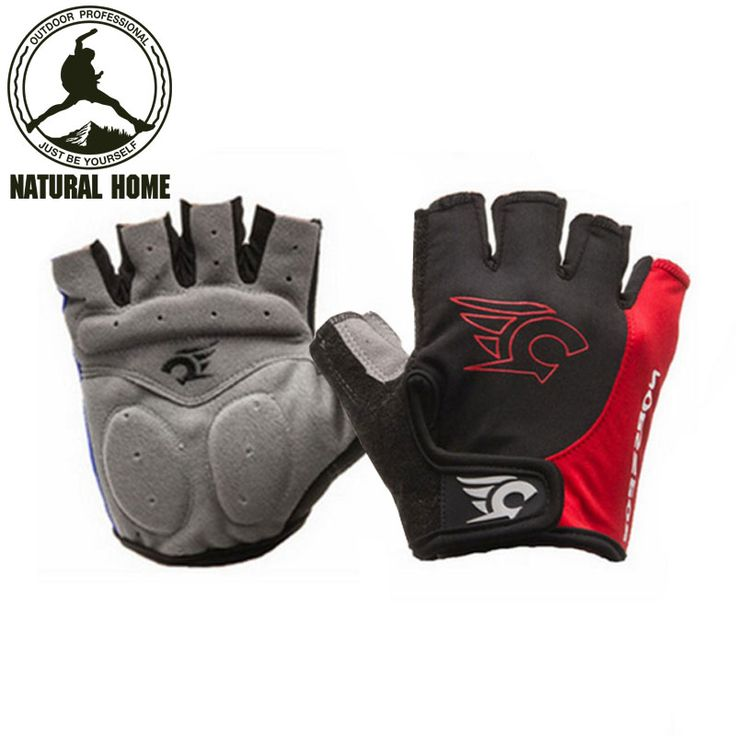 NaturalHome Cycling Gloves Half Finger MTB Bike Bicycle Gloves Mountain Motorcycle Glove Guantes Ciclismo Bicicleta