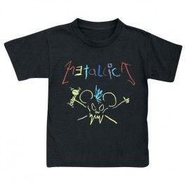 Metallica kids and toddler t-shirt in 4T