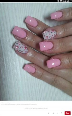 Pink nails  | Mirjetta Q.'s Photo | Beautylish
