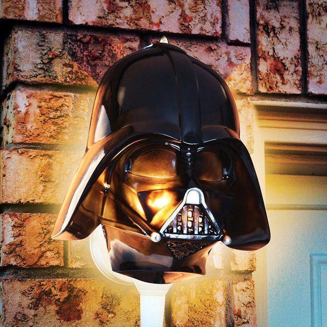 Darth Vader Porch Light Cover - $10