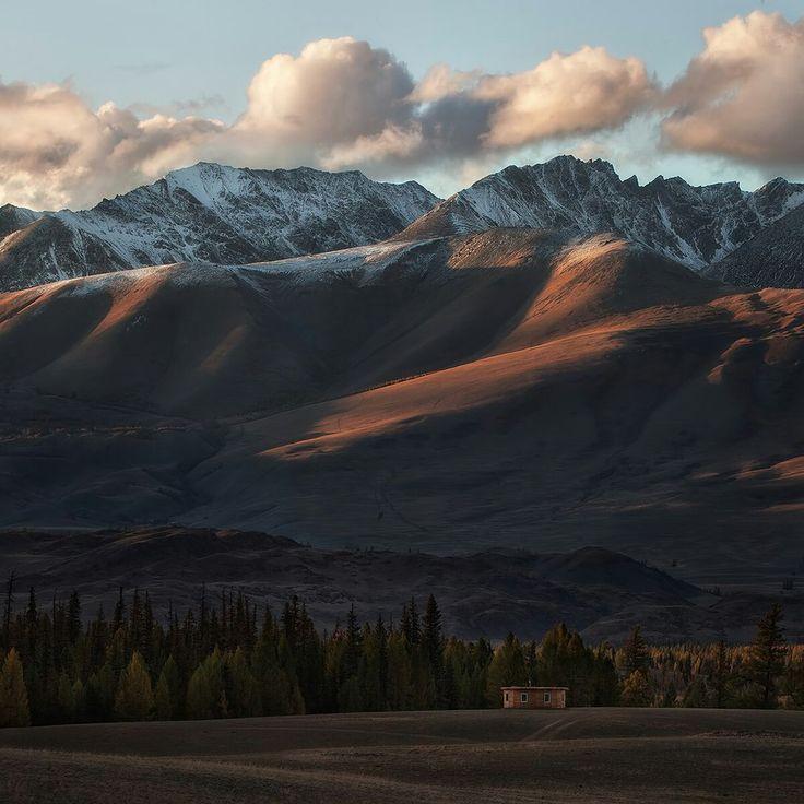 Курайская степь, Алтай, Россия
