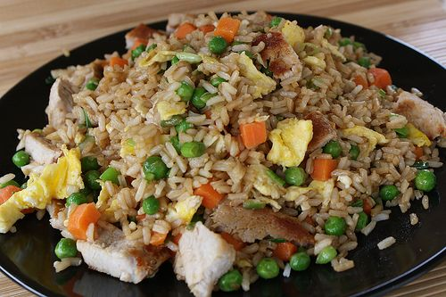 Chicken fried rice - ♥ Chinese food