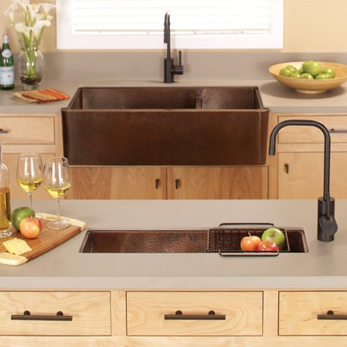 copper, warmth, natural. All the things I need in my kitchen