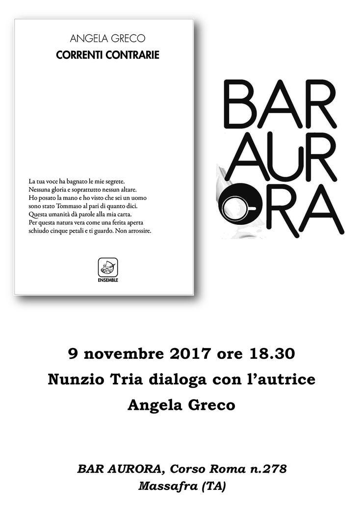 Correnti contrarie, poesie di Angela Greco (Ed.Ensemble, 2017)