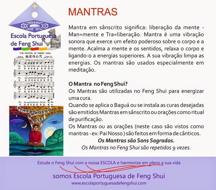 Escola Portuguesa de Feng Shui: MANTRAS