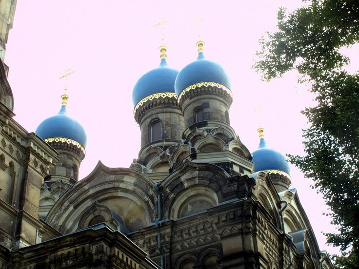 Russisch Orthodoxe Kirche at Dresden, Germany