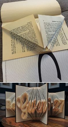 Easy and Free Book Folding Pattern - 10 Awe-inspiring Book Folding Patterns All Book Lovers Will Appreciate