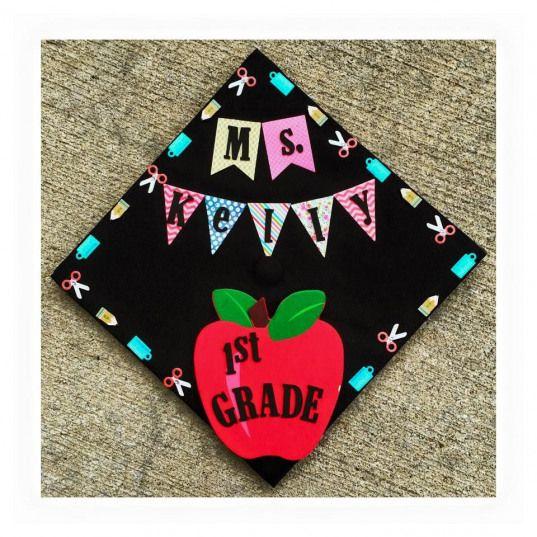 Teacher graduation cap #arteducation #art #education #graduation #cap
