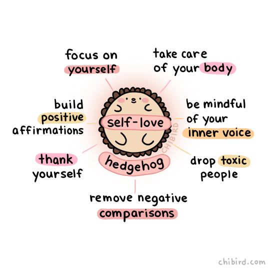 "chibird: "" Learning to love yourself is hard, but here's a self-love hedgehog to help you out! :D"
