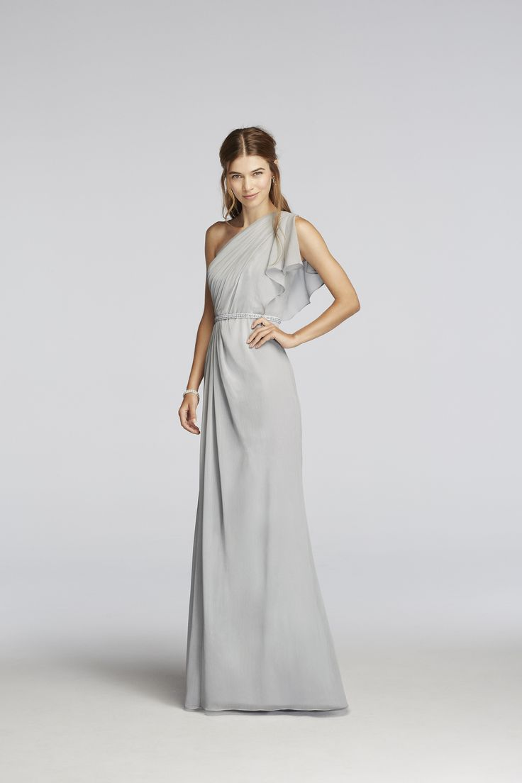Jenny Packham Lace Chiffon Dress
