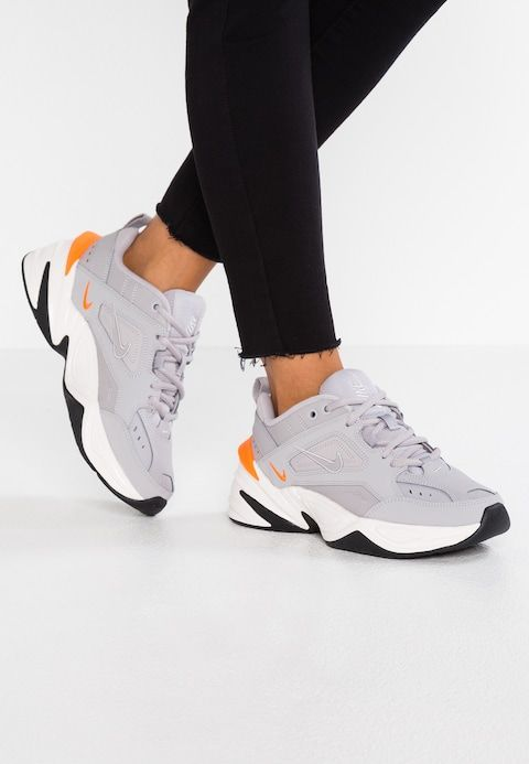 8f5cce691f83 Nike Sportswear M2K TEKNO - Zapatillas - atmosphere grey phantom total  orange black - Zalando.es