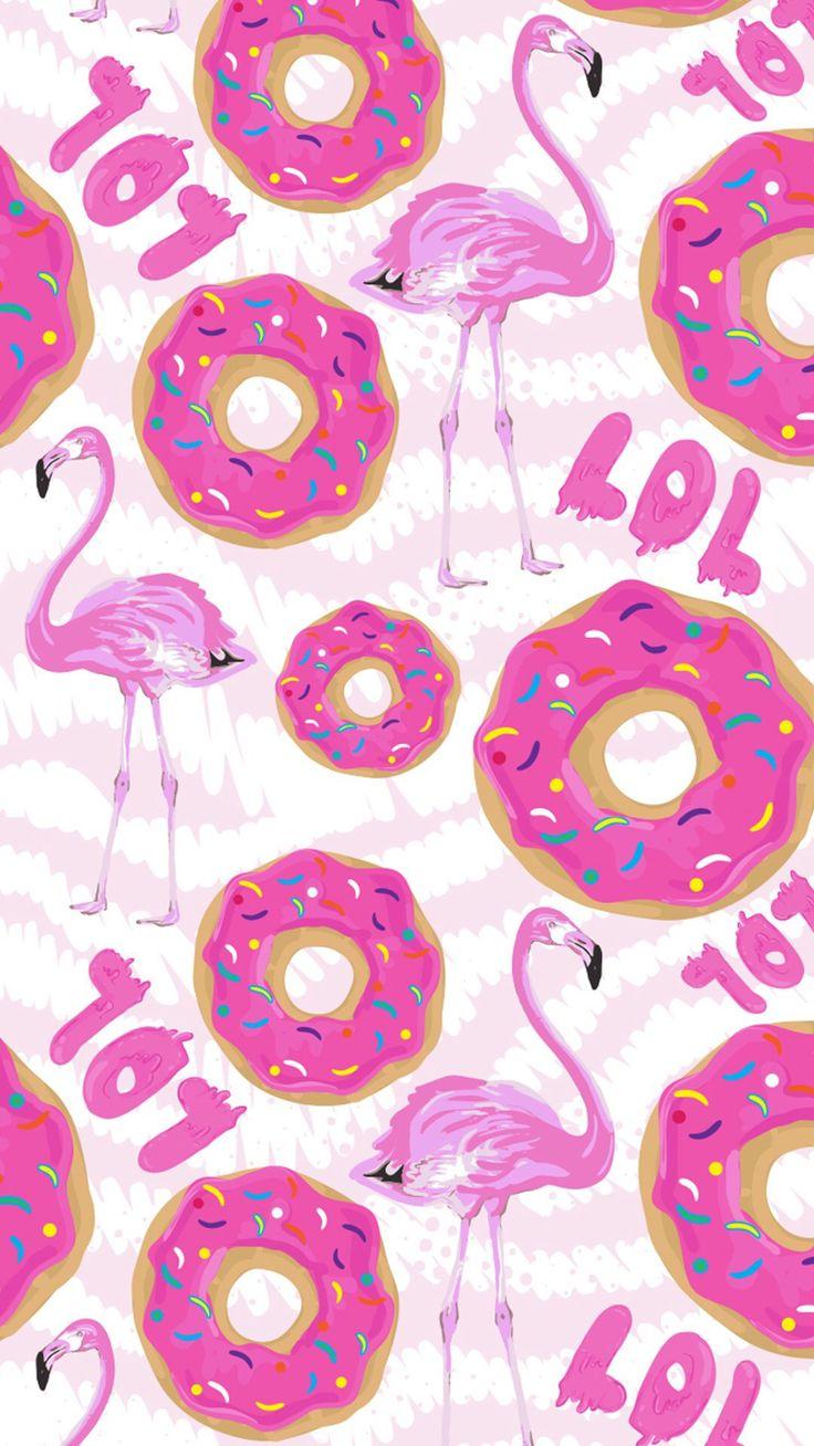 Flamencos y donuts