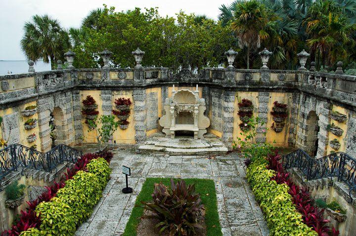 Villa Vizcaya. Miami, Florida.