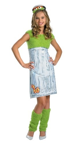 sesame street oscar teen girl halloween costume totally being this for halloween - Sundrop Halloween Costume