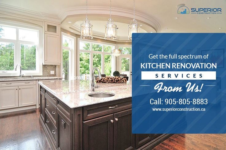 Get best quality Kitchen Renovations Toronto, GTA from Superior Construction. We are a qualified Custom Home Builder also! For details just contact Us.