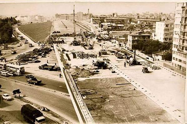 Mecidiyeköy, 70'ler #istanbul #birzamanlar #oldpics #istanlook