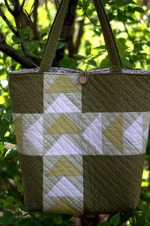 Patchwork bag Women's bag  Shoulder bag Shopping bag
