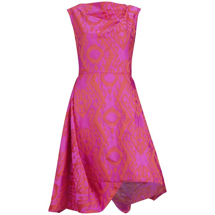 Get Vivienne Westwood Anglomania Women's Aztec Dress - Red/Pink now at Coggles - the one stop shop for the sartorially minded shopper. Free UK & EU delivery when you spend £50.
