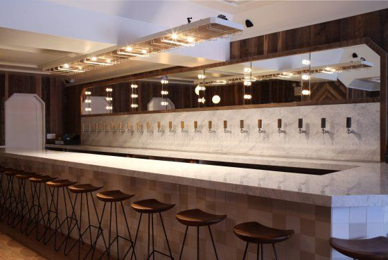 Tørst 01 / beer bar in greenpoint, bk. photo: Melissa Hom. can wait to check this out. via Grub Street #brooklyn #beer #bar