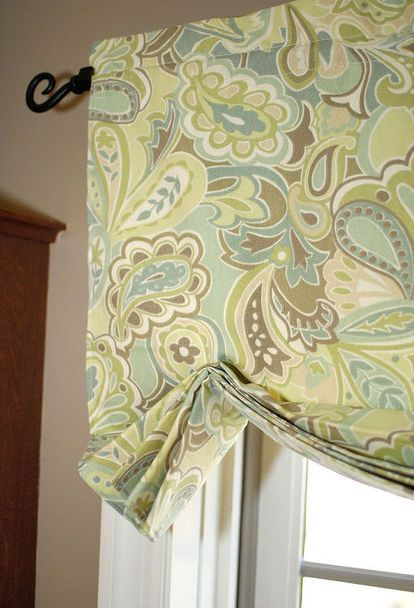 how to make window valances without sewing