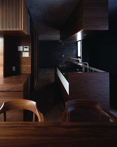 Modern KItchen Design By Love Architecture Inc. Photography By Katsuhisa Kida