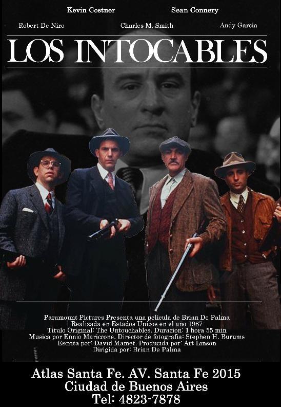 Los Intocables Afiche De Pelicula Peliculas Cine Peliculas Que Debes Ver