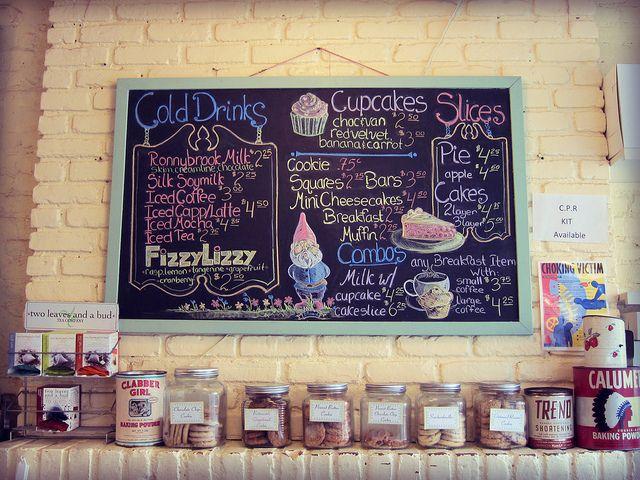 Billy S Bakery New York City Love The Chalkboard