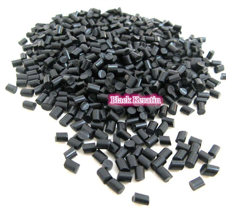 100g x Hair Extension Fusion Keratin Glue Tips Rebond Granules Beads BLACK Keratin Glue Granule