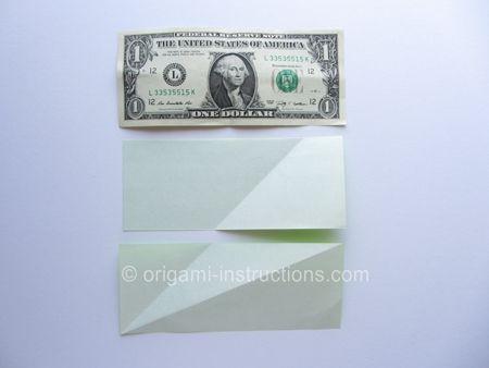 Divide Paper into US dollar bill