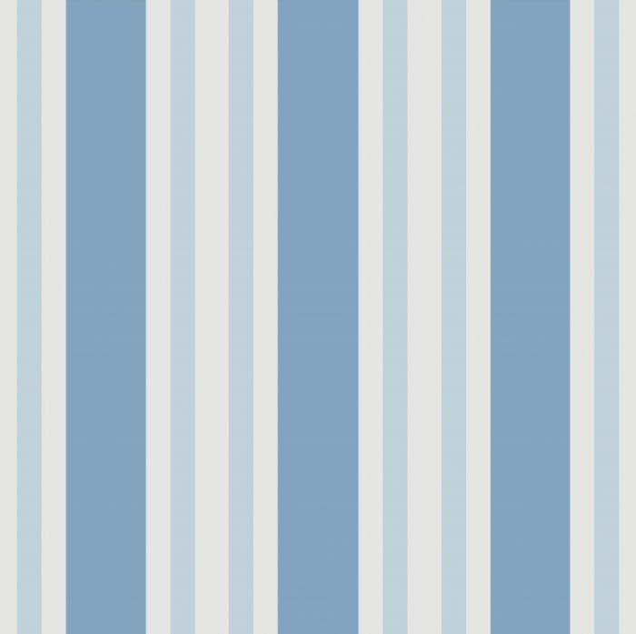 Polo Stripe Blue Wallcovering Kravet Tempat Pernikahan Desain Tekstil Blue striped wallpaper for bathrooms