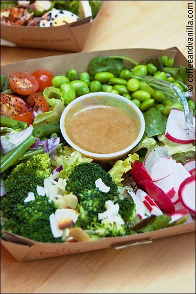 Super Greens Salad @ Crussh Juice Bar