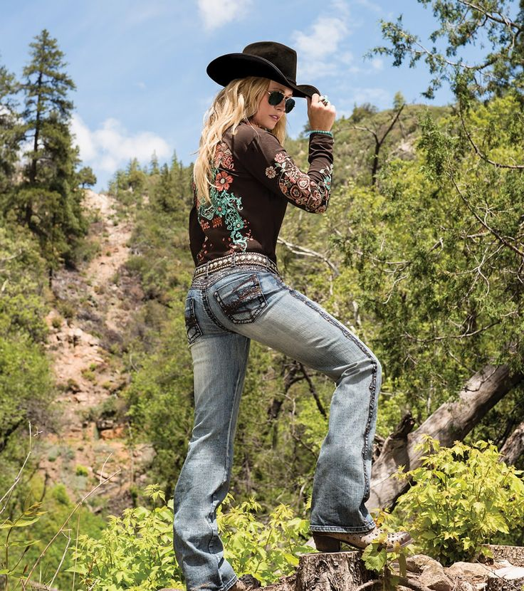 """Show it Off II"" - Cowgirl Tuff Jeans"