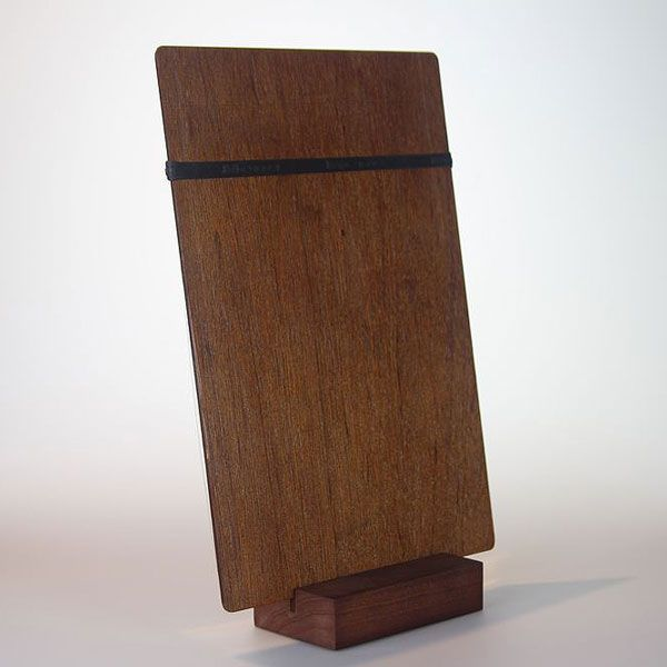 Pair any of our restaurant clipboards with a slotted timber block