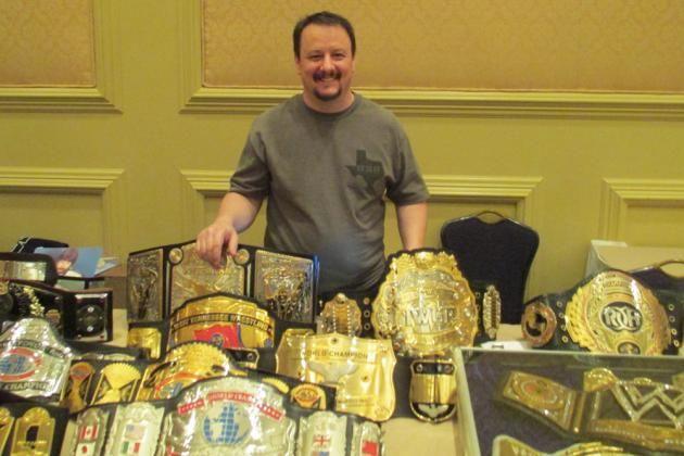 WWE Championship Belt Maker Dave Millican Talks 'Big Logo' 2013 WWE Belt & More