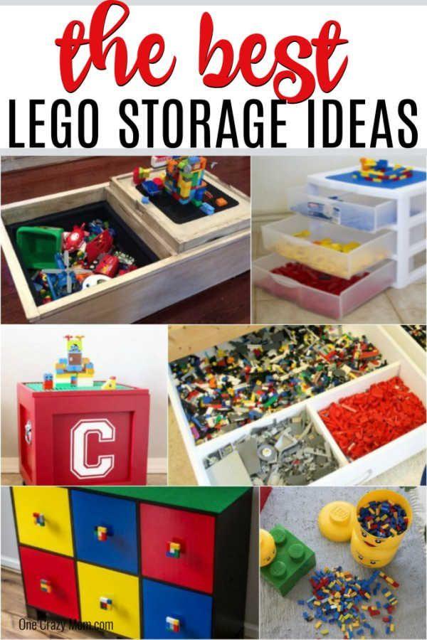 Lego Storage Ideas Over 15 Of The Best Lego Organization Ideas
