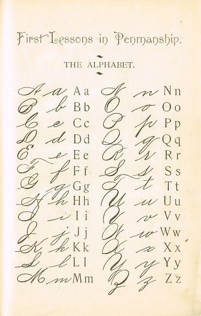 Alphabet Primer Page Sign - Knick Of Time