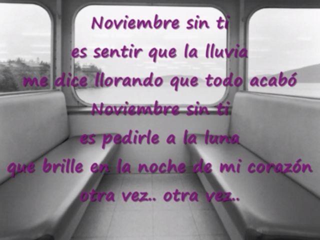 Reik Noviembre Sin Ti con letra - YouTube