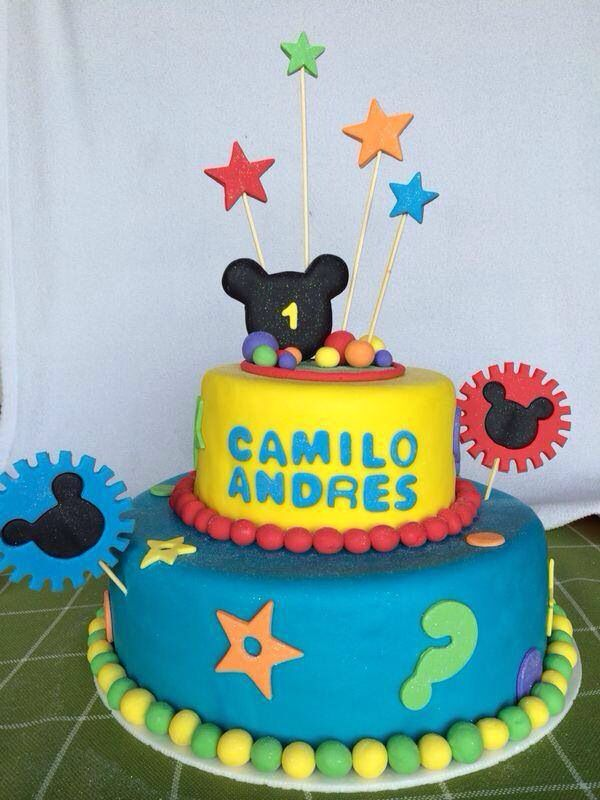 Ponqué Mickey Mouse by cocinART catering & eventos