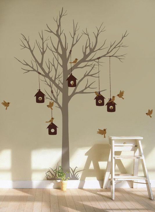 Love Home Tree Wall Mural