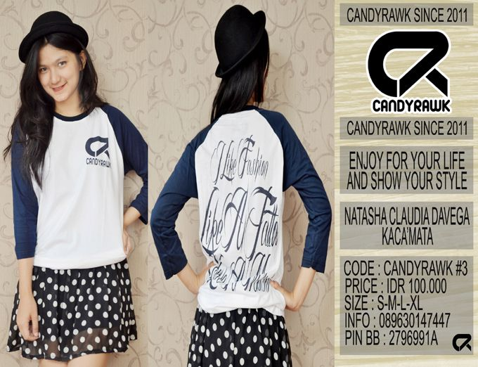 #35 | CANDYRAWK #3 | IDR 100.000 | SOLD OUT |