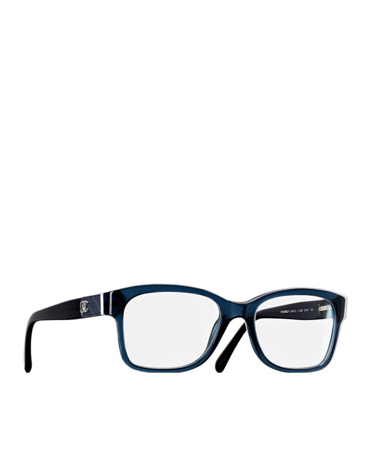 Chanel Square Frame Glasses : Square acetate eyeglasses with... - CHANEL Glasses ...