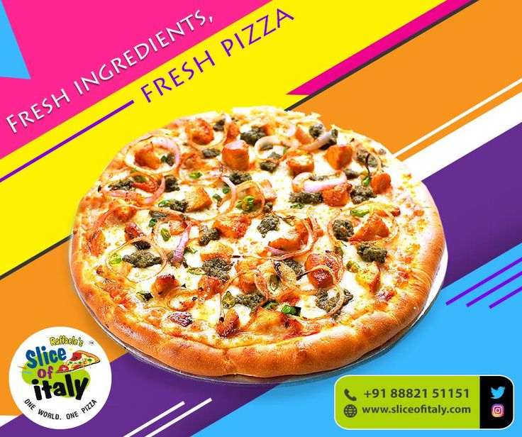 Want a fresh Italian Pizza? Visit here - https://www.cylex.in/company/slice-of-italy-10991992.html #SliceofItaly #ItalianFood #Restaurant #Pizza #Pasta #Cake#HomeDelivery #TakeAway #NewDelhi #Delhi #DelhiNCR #NCR #VasantVihar #ShahpurJat #LodhiColony #Janakpuri #OkhlaPhase2#GTBNagar #MayurViharPhase2 #PrashantVihar #DilshadGarden#Indirapuram #Sector12 #Dwarka #Gurgaon #Sector15 #Gurugram #Noida #Sector51