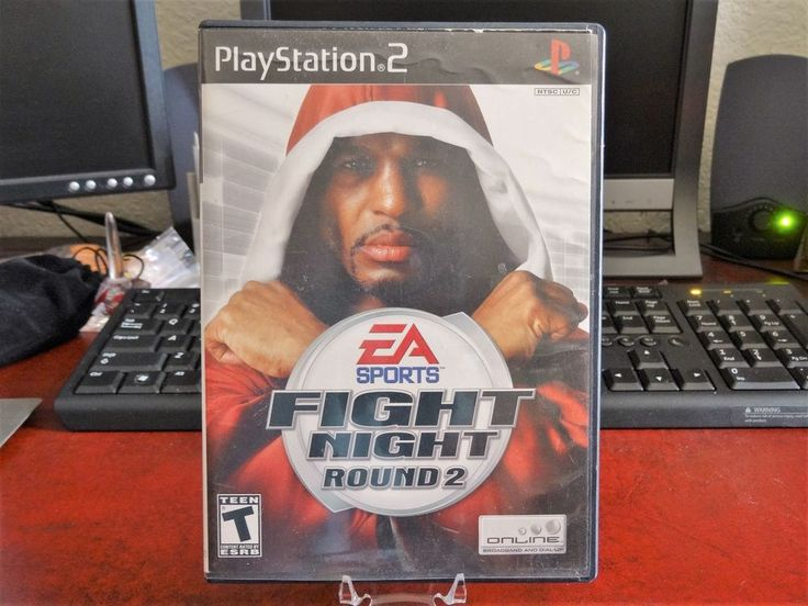 Sony Playstation 2 Fight Night Round 2 PS2 Game!